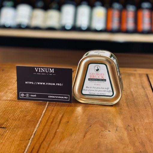 VINUM - Bruck Bloc de Foie Gras d'Oie Truffé 75g