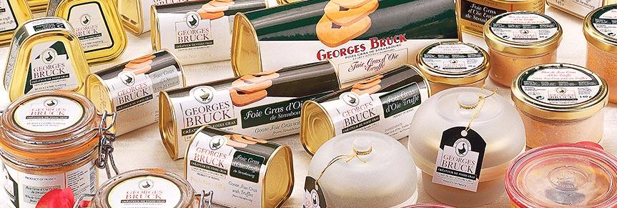 Les foies gras en conserve