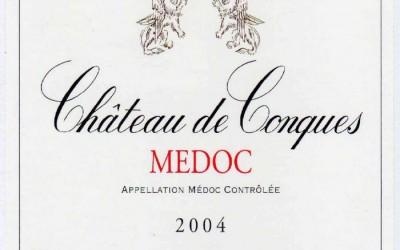 Incontournable : Médoc Château de Conques