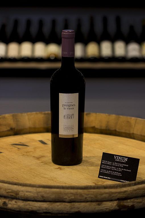 VINUM - Preignes Cabernet Sauvignon fût Préstige