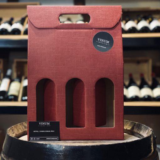 VINUM - Boîte 3 Bouteilles Bordeaux