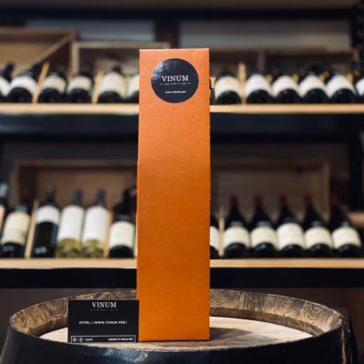 VINUM - Boîte 1 Bouteille Orange