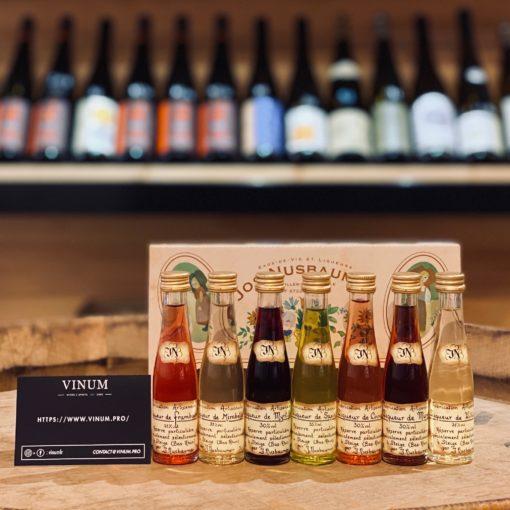 VINUM - Nusbaumer Assortiment de 7 Mignonettes Liqueurs