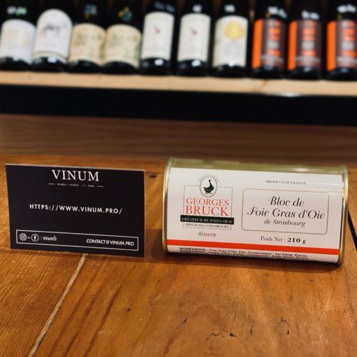 VINUM - Bruck Bloc de Foie Gras d'Oie