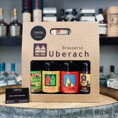 VINUM - Uberach Valisette 4 Bières 50cl (sans bouteilles)