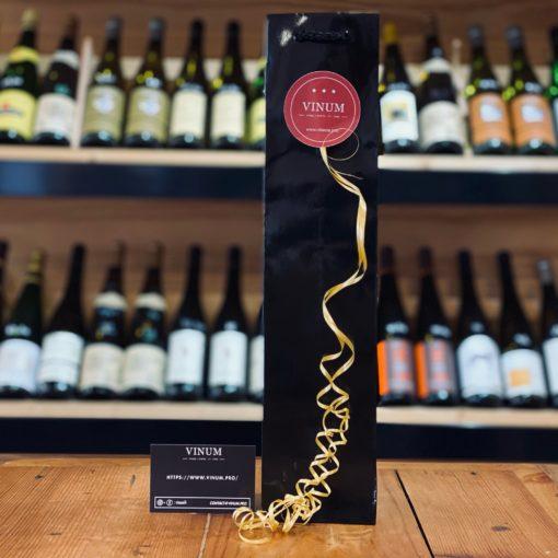 VINUM - Sac 1 Bouteille Noir Brillant Gloss
