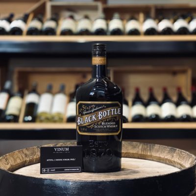 VINUM - Gordon Graham's Black Bottle Blended Scotch Whisky