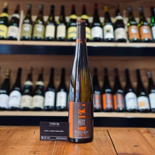 VINUM - Bott Geyl Pinot Gris Grand Cru Sonnenglanz Vendanges Tardives 2010