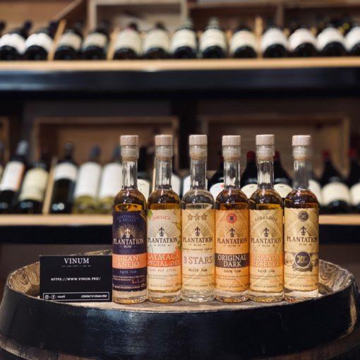 VINUM - Plantation Rum Coffret Dégustation 6 x 10 cl