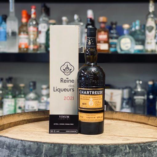 VINUM - Chartreuse Reine des Liqueurs Jaune 2021