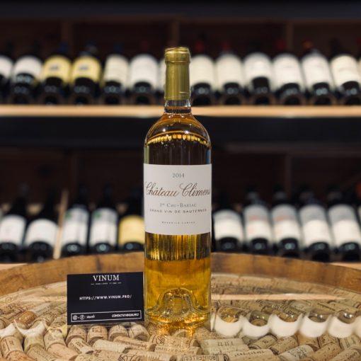 VINUM - Château Climens Sauternes 2014