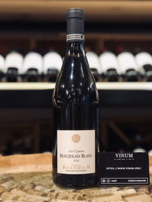VINUM - Pascal Berthier Les 17 Pièces 2019