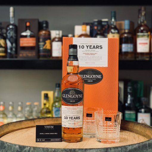 VINUM - Glengoyne 10 ans + coffret 2 verres