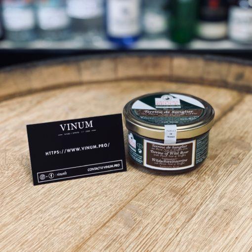 VINUM - Bruck Terrine de Sanglier au Pinot Noir et Truffes d'Eté
