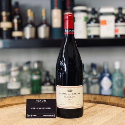 VINUM - Baron Briare Gamay 2017
