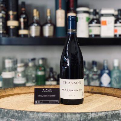 VINUM - Domaine Chanson Marsannay 2017