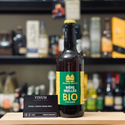 VINUM - Uberach Bière Miellée Bio