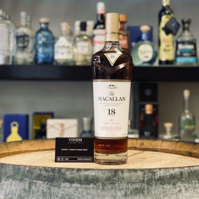 VINUM - Macallan Sherry Oak 18 ans