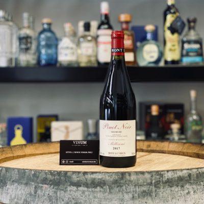 VINUM - Domaine de Mont le Vieux Pinot Noir Grand Cru 2017