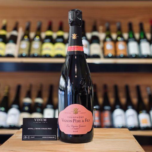 VINUM - Vignon Rosé Brut Zéro Les Vignes Goisses Brut Zéro 2016