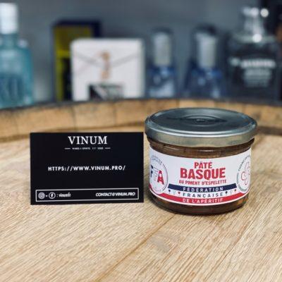 VINUM - FFA Pâté Basque au Piment d'Espelette 170g