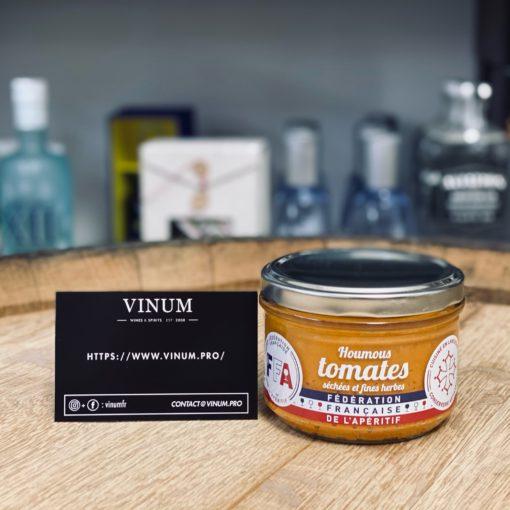 VINUM - FFA Houmous Tomates Séchées et Fines Herbes 200g